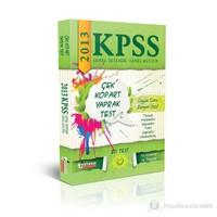 2013 KPSS Genel Kültür - Genel Yetenek Çek Kopart Yaprak Test