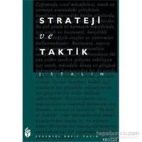 Strateji ve Taktik