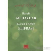 İlaveli Ali Haydar Kur'an-ı Kerim Elifbası - Rahmi Tura