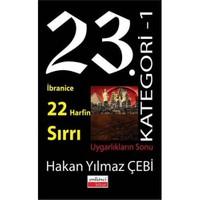 23 Kategori -1 İbrabice 22 Harfinin Sırrı