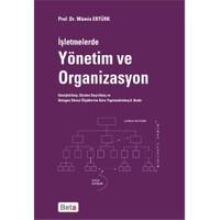 İşletmelerde Yönetim Ve Organizasyon - Mümin Ertürk