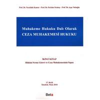 Muhakeme Hukuku Dalı Olarak Ceza Muhakemesi Hukuku İkinci Kitap