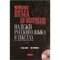 Metinlerle Rusça Ad Durumları - (Temel ve Orta Seviye)