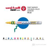 Uni Paint Marker Yağ Bazlı Kalıcı Markör 1'li (PX-21)