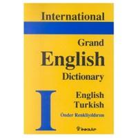 International Grand English Dictionary Englih Turkish