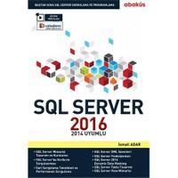 SQL Server 2016 Eğitim Seti - İsmail Adar