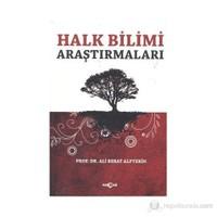 Halk Bilimi Araştırmaları-Ali Berat Alptekin