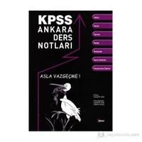 KPSS Ankara Ders Notları