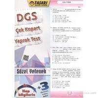 Tasarı DGS Çek-Kopart Yaprak Test Sözel Yetenek