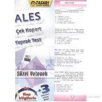 Tasarı ALES Çek-Kopart Yaprak Test Sözel Yetenek