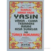 Yasin Vakıa - Cuma Tebareke Amme ve Kısa Sureler ve Türkçe Açıklaması (Çanta Boy - 5 Renk - Kod-009)