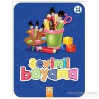 Sevimli Boyama-Lacivert-Kolektif