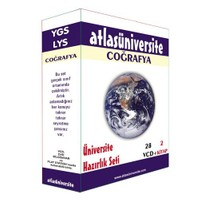Atlas Üniversite Ygs-Lys Coğrafya Seti (28 VCD + 2 Kitap)