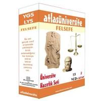 Atlas Üniversite Ygs-Lys Felsefe Seti (13 VCD + 2 Kitap)
