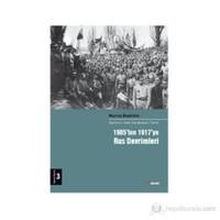 1905'ten 1917'ye Rus Devrimleri - (Devrimci Halk Hareketleri Tarihi 3 Cilt)