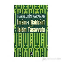 İmam'I Rabbani Ve İslam Tasavvufu-Hayreddin Karaman