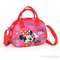 Yaygan Minnie Mouse Elde Ve Omuzda Taşımaya Uygun Omuz Çantası