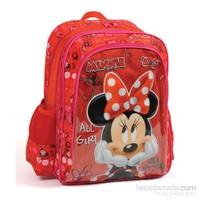 Yaygan 73146 Minnie Mouse Kırmızı Okul Çantası