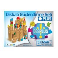 Dikkati Güçlendirme Seti Plus 3 Yaş Kitap (3 Kitap) - Osman Abalı