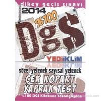 Yediiklim DGS 2014 Sözel Yetenek Sayısal Yetenek Çek Kopart Yaprak Test