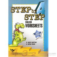 Harf Step By Step 4.Sınıf English Worksheets