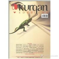 Kurgan Edebiyat Dergisi Sayı 3 Yıl 1 Ekim 2011