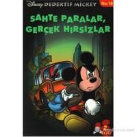 Disney Dedektif Mickey 18 Sahte Paralargerçek Hırsızlar-Philippe Gasc