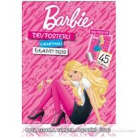 Barbie Dev Posterli Çıkartmalı Faaliyet Dizisi-Kolektif