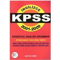 İngilizce Kpss 2001-2009 Essential English Grammar