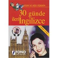 Fono 30 Günde İleri İngilizce (kitap + 2 Cd)
