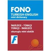 Fono İngilizce / Türkçe - Türkçe / İngilizce Mini Sözlük