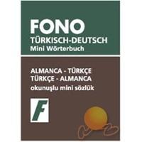 Fono Almanca / Türkçe - Türkçe / Almanca Mini Sözlük