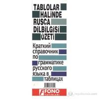 Tablolar Halinde Rusça Dilbilgisi Özeti