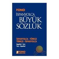 Fono İspanyolca / Türkçe - Türkçe / İspanyolca Büyük Sözlük