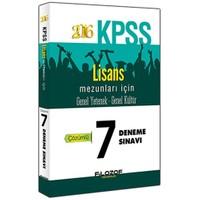 Filozof Kpss 2016 Genel Yetenek Genel Kültür Çözümlü 7 Deneme Sınavı