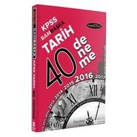 Başka Yayınları Kpss 2016 Bambaşka Tarih 40 Deneme