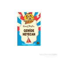 Maceracı Dörtler: Gemide Heyecan-Enid Blyton