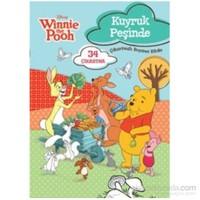 Winnie Kuyruk Peşinde Çıkartmalı Boyama Kitabı-Kolektif