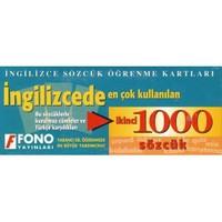 Fono İngilizcede En Çok Kullanılan İkinci 1000 Sözcük