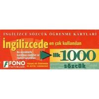 Fono İngilizcede En Çok Kullanılan İlk 1000 Sözcük