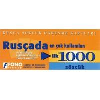 Fono Rusçada En Çok Kullanılan İlk 1000 Sözcük