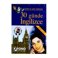 Fono 30 Günde İngilizce (kitap + 2 Cd) - Şükrü Meriç