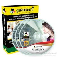 ALES Matematik Çözümlü Soru Bankası Eğitim Seti 25 DVD