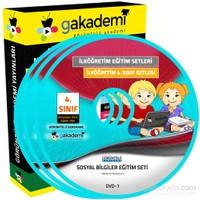 İlköğretim 4. Sınıf Sosyal Bilgiler Görüntülü Eğitim Seti 6 DVD