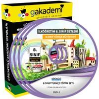 Görüntülü Akademi 8. Sınıf Türkçe Görüntülü Eğitim Seti (8 Dvd)