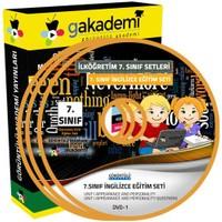 Görüntülü Akademi İlköğretim 7. Sınıf İngilizce Görüntülü Eğitim Seti (8 Dvd)