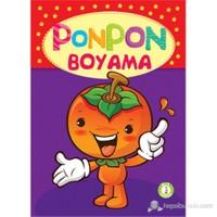 Ponpon Boyama Seti (4 Kitap Takım)-Kolektif