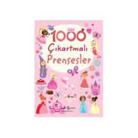 1000 Çıkartmalı Prensesler-Lucy Bowman