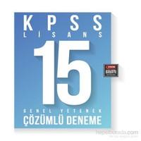 Fem Akademi Kpss G.Yetenek 15 Çzml Deneme Kitabi - ( Mgt ) / Lisans