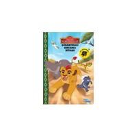 Disney Aslan Koruyucular Çıkartmalı Boyama Kitabı